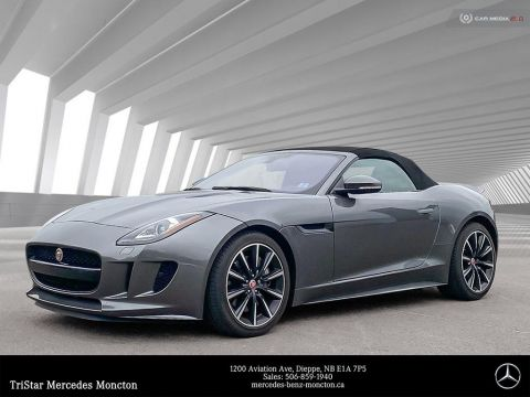Pre-Owned 2017 Jaguar F-TYPE Rear Wheel Drive Convertible
